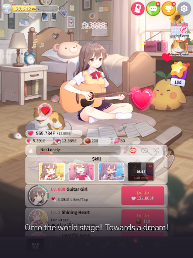 Guitar Girl : Relaxing Music Game 2.3.0 screenshots 11