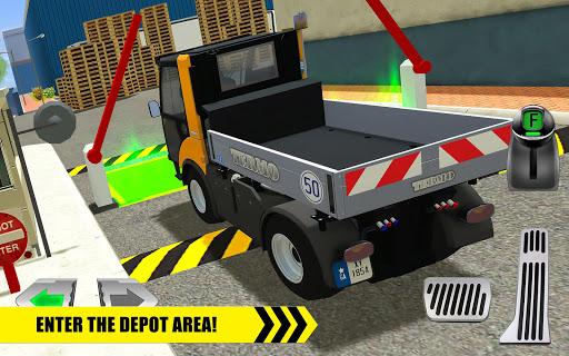 Truck Driver: Depot Parking Simulator 1.2 screenshots 6