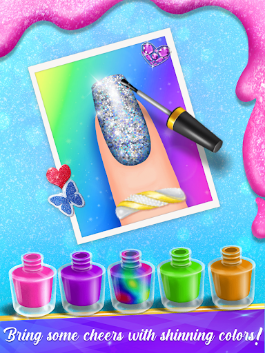 Nail Salon Manicure - Fashion Girl Game apkmr screenshots 10