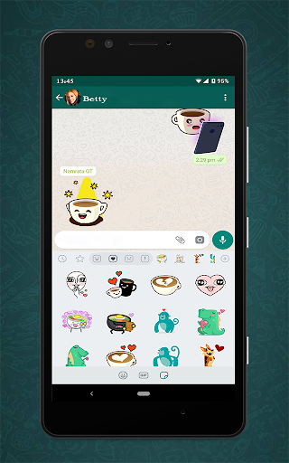Free Messenger Whats Stickers New  Screenshots 1