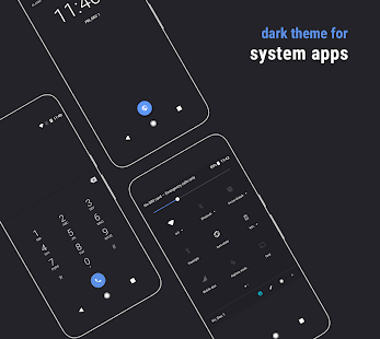 Swift Dark Substratum Theme Screenshot