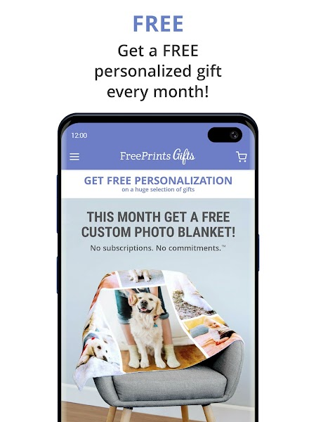 FreePrints Gifts – Fast & Easy