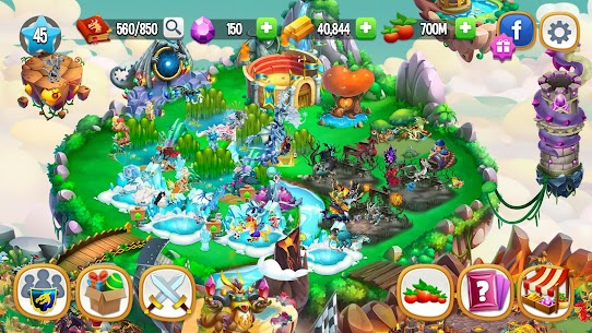 Dragon City Mod APK 11.5.3[Unlimited Gems, Characters, Gold]Download 4