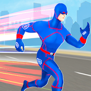 Police Light Speed Robot Hero: Crime City Shooting