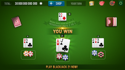 BLACKJACK 21 Casino Vegas: Black Jack 21 Card Game 1.0.6 Screenshots 1
