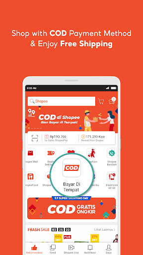 Shopee 9.9 Super Shopping Day apktram screenshots 3