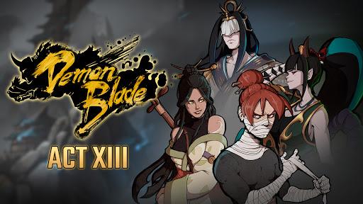 Demon Blade - Japanese Action RPG apkpoly screenshots 24