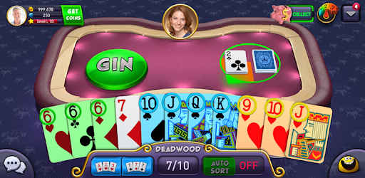 Screenshot of Gin Rummy Plus