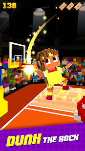 Blocky Basketball FreeStyle Screenshot