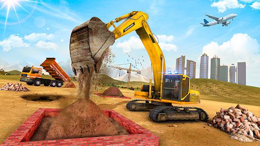 Utility Construction Machines: Construction City apklade screenshots 1