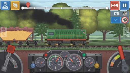 Train Simulator - 2D Railroad Game  screenshots 2
