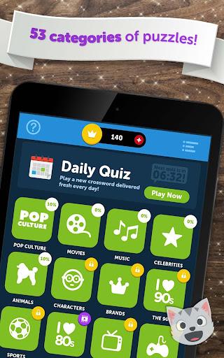 Crossword Quiz - Crossword Puzzle Word Game! 3.85g screenshots 19