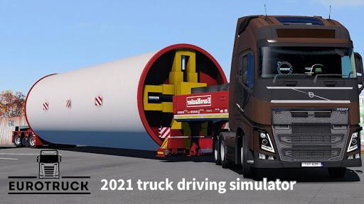 Euro Truck Driving 2021 High Truck Simulator  screenshots 1