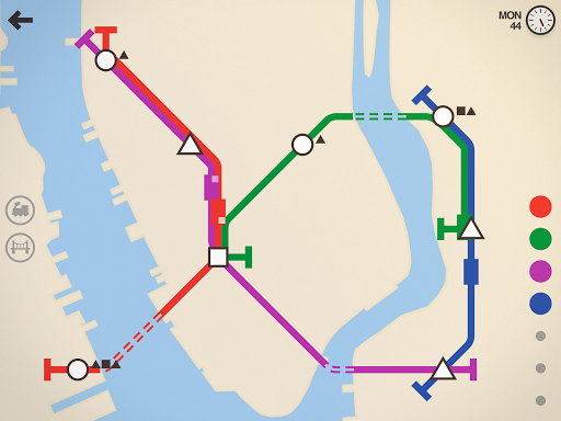 Mini Metro Varies with device screenshots 7