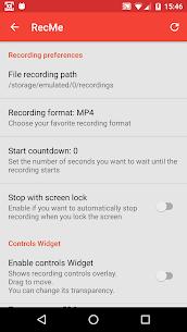 RecMe Screen Recorder Pro v2.6.0 MOD APK 4