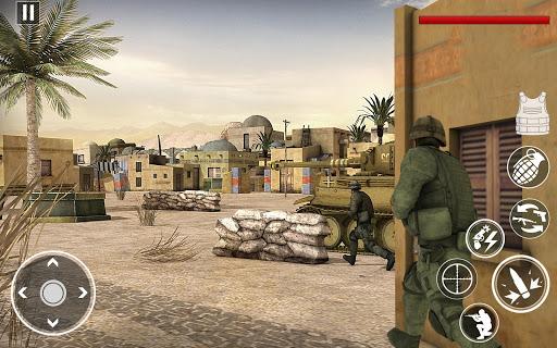 Heroesud83cudf96ufe0fStrike Commando World War Pacific Shooter android2mod screenshots 3