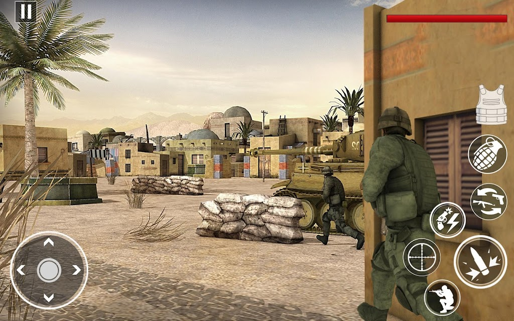 Commando Assassin Strike:World War Pacific Shooter  poster 2