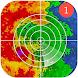 気象レーダーアプリ-気象ライブマップ、ストームトラッカー
