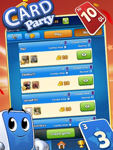 Cardparty apkdebit screenshots 2