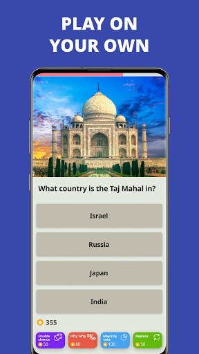 Free Trivia Game. Questions & Answers. QuizzLand.  Screenshots 2