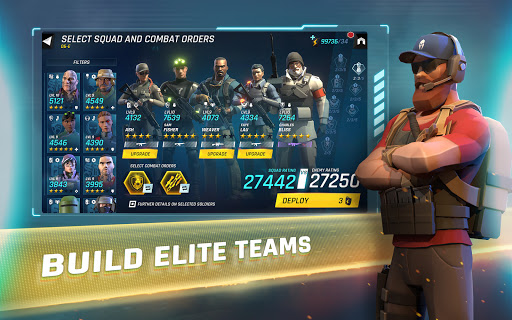 Tom Clancy's Elite Squad - Military RPG 1.4.4 screenshots 21