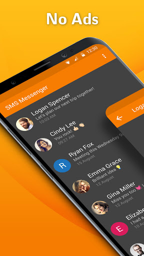 Simple SMS Messenger: SMS and MMS messaging app  screenshots 1