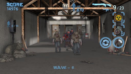 Zombie Hunter King 1.0.42 screenshots 1