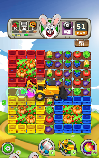 Farm Raid : Cartoon Match 3 Puzzle  screenshots 18