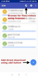 IDM – Download Manager Plus v1.7.5 MOD APK 1