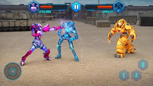 Robot X Street Battle: Beat Em Up Warrior Assassin apkmr screenshots 5