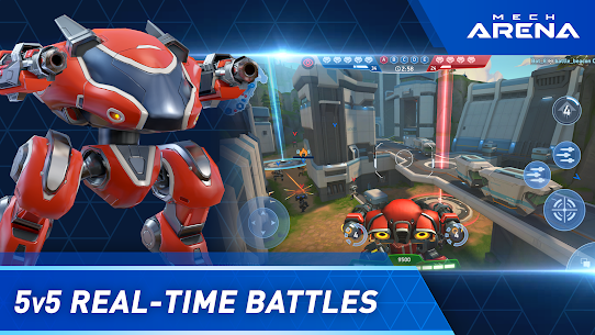 Mech Arena: Robot Showdown APK MOD (Dinero Ilimitado) 2