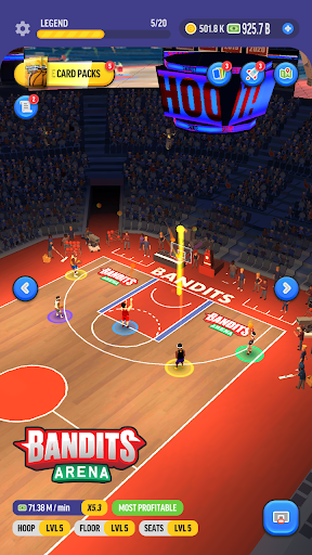 Basketball Legends Tycoon - Idle Sports Manager 0.1.49 screenshots 1