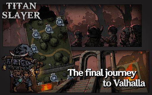 Titan Slayer: Roguelike Strategy Card Game apktram screenshots 14
