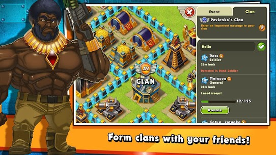 Jungle Heat: War of Clans 2.1.5 Apk 2