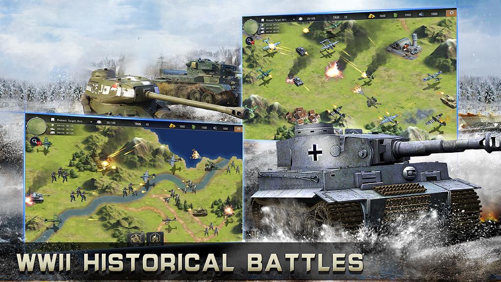 World War 2: Strategy Games WW2 Sandbox Simulator  poster 1