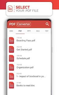 PDF Converter (doc ppt xls txt word png jpg wps) 192.0 MOD APK [ PREMIUM UNLOCKED] 4
