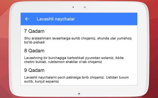 Pishiriqlar Retsepti Uzbek Tilida_TOP PiSHiRiQLaR 2.4.4 Screenshots 4