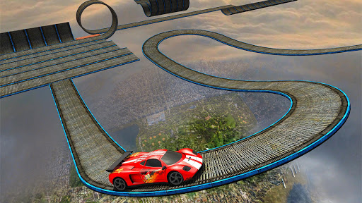 Impossible Stunt Car Tracks 3D screenshots 12