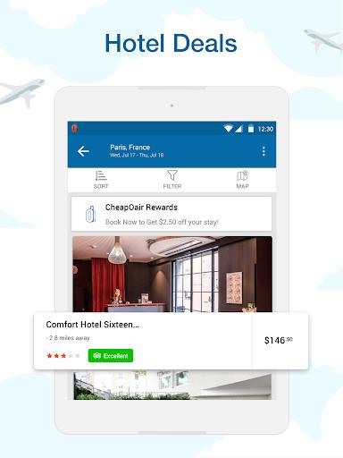 CheapOair: Cheap Flights, Cheap Hotels Booking App 3.20.18 Screenshots 10