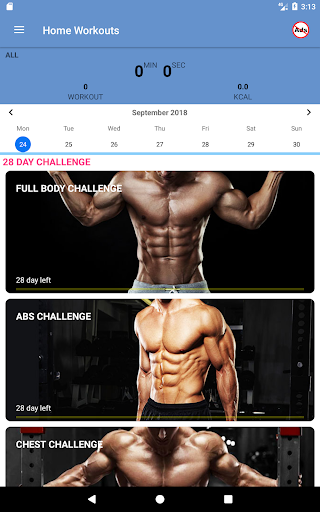 Home Workouts - No equipment - Lose Weight Trainer 18.61 Screenshots 16