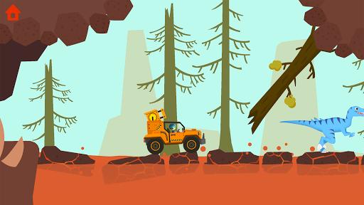 Dinosaur Guard - Jurassic! Driving Games for kids  screenshots 12