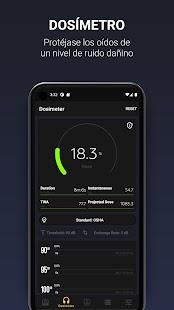 Decibel 10 PRO: dBA sonómetro, medición del ruido Screenshot