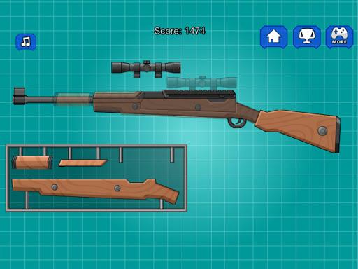 Assemble Toy Gun Sniper Rifle 2.0 screenshots 6