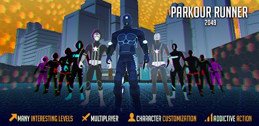 Parkour 3D Robot Runner 2049 1.0.27 screenshots 1