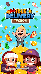 Idle Delivery Tycoon Mod Apk 1.2.0.10 (Free Shopping) 6