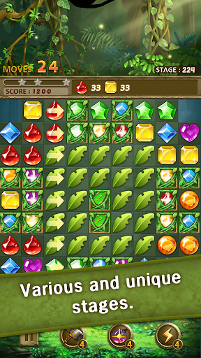 Jewels Jungle : Match 3 Puzzle apktram screenshots 6
