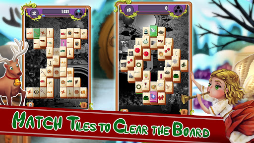 Christmas Mahjong Solitaire: Holiday Fun Apkfinish screenshots 11