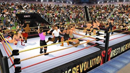 Download Wrestling Revolution 3D MOD APK 1.702 [Unlocked All] 9