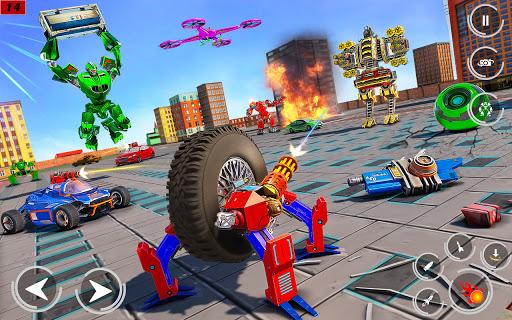 Drone Robot Car Driving - Spider Wheel Robot Game  screenshots 4