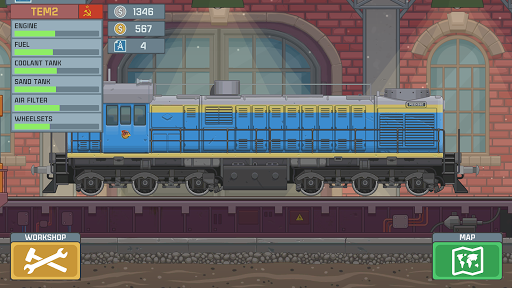 Train Simulator - 2D Railroad Game  Pc-softi 7